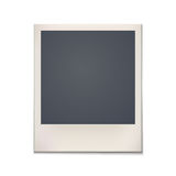 Blank retro photo frame. Vintage Royalty Free Stock Photography
