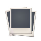 Blank retro photo frame Stock Photo