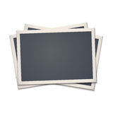 Blank retro photo frame Stock Image