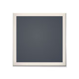 Blank retro photo frame Royalty Free Stock Images