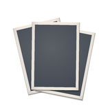 Blank retro photo frame Royalty Free Stock Photos