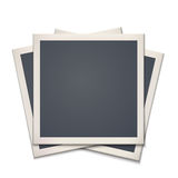 Blank retro photo frame Royalty Free Stock Photo