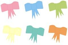 Blank ribbons Stock Image
