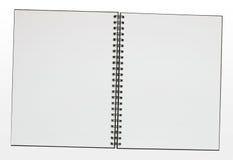 Blank ring binder pad border Stock Images