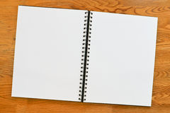 Blank ringbinder border Stock Images