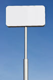 Blank Road Sign. Billboard sign with copy space for your message Stock Photos