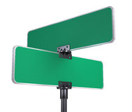 Blank Road Signs Stock Images