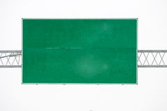 Blank road signs Royalty Free Stock Photos