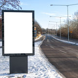 Blank Roadside Billboard 04 Stock Photo