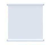 Blank Rolled paper Royalty Free Stock Photos