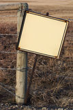 Blank Rustic Sign Royalty Free Stock Image