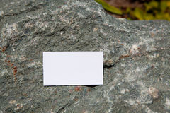 Blank sample for business card or tag Stock Images