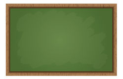Blank School Blackboard Stock Images