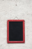 Blank school chalkboard Stock Photography
