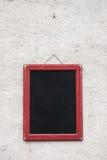 Blank school chalkboard Stock Photography