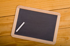 Blank School Chalkboard Stock Photos