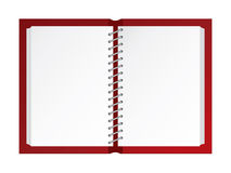 Blank scrapbook Stock Images
