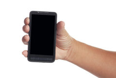Blank screen smart phone Royalty Free Stock Photo