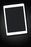 Blank Screen White Tablet Pc Grid Metallic Royalty Free Stock Photography