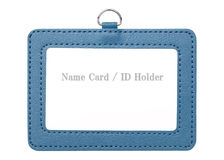 Blank security badge Royalty Free Stock Photo