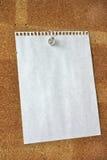 Blank sheet Stock Image