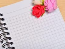 Blank sheet, congratulation Stock Photo