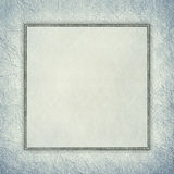 Blank sheet on crumpled paper background Royalty Free Stock Photography