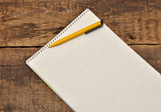 Blank sheet of paper Stock Photos