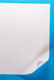 Blank sheet of paper Royalty Free Stock Image