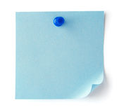 Blank sheet of paper for notes Royalty Free Stock Image