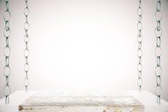 Blank shelf light background Stock Photography