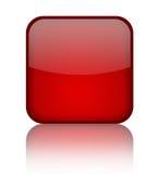 Blank shiny button Stock Photo
