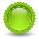 Blank shiny icon Stock Photography