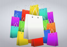 Blank shopper Stock Photos