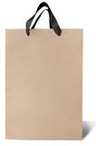 Blank shopping paper bag Stock Photography