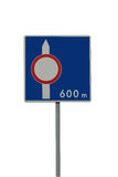 Blank sign. Road sign left blank to add your text or symbol stock image