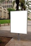 Blank sign Stock Images