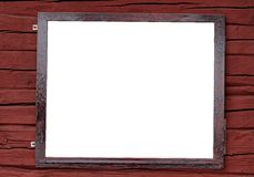 Blank sign Royalty Free Stock Photography