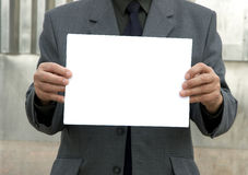 Blank sign Royalty Free Stock Photos