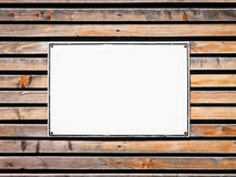 Blank sign Royalty Free Stock Photo