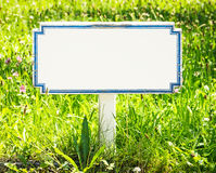 Blank sign Stock Image