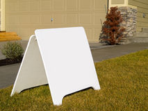 Blank Sign Stock Photos