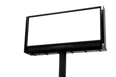 Blank sign. The blank sign, advertisment board Royalty Free Stock Photos