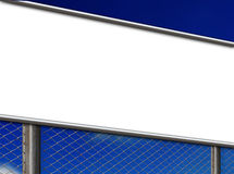 Blank sign board Stock Image
