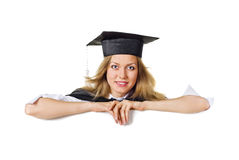 Blank sign - Graduate Stock Photos