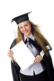 Blank sign - Graduate Royalty Free Stock Photography