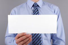 Blank sign for message Stock Photos