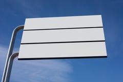 Blank Signage Royalty Free Stock Image
