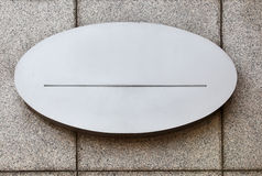 Blank signboard Stock Photo