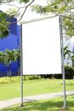blank signboard fotografering för bildbyråer